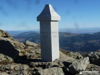 Peña Citores-Cumbres y Lagunas Peñalara; valle del baztan cancho de los muertos puente club viajes